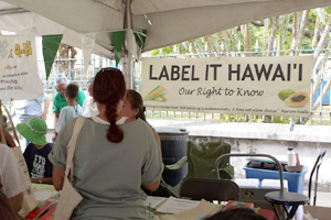 Label It Hawaii Information Booth