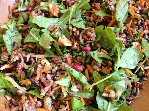 Citrus Brown Rice Salad