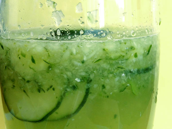 Photo: Glass of Lemon Mint Detox Water