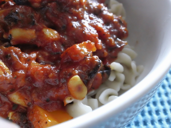 Photo: Pasta with Bolognaise Pasta Sauce