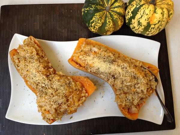 Photo: Baked Butternut Squash Risotto