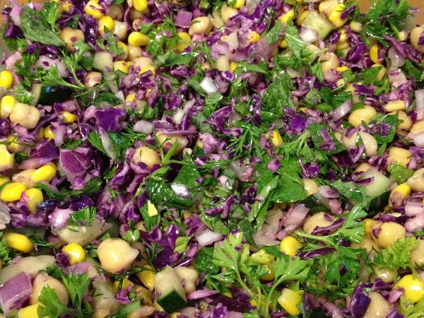 Photo: Sprouted 3 Bean Salad