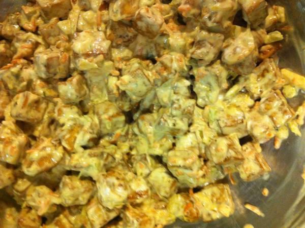Photo: Mock Chicken Salad
