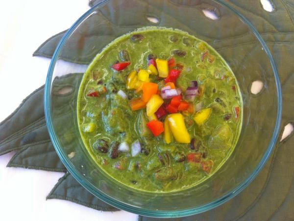 Photo: Bowl of Pineapple and Black Bean Salsa