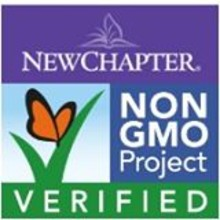 New Chapter: Non-GMO Project Verified