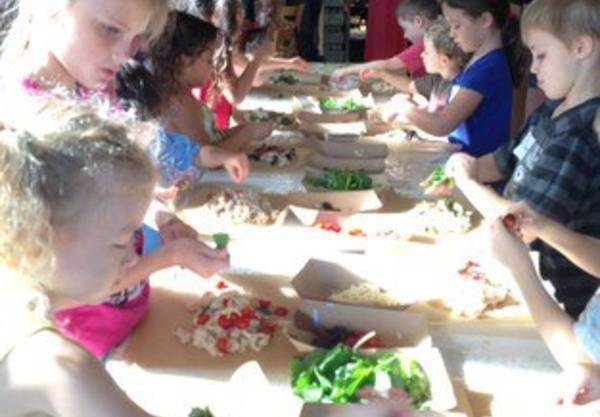 Phot: Children at a Keiki Workshop