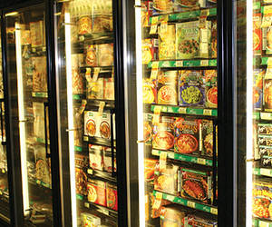 Photo: Down to Earth Chill and Frozen Section