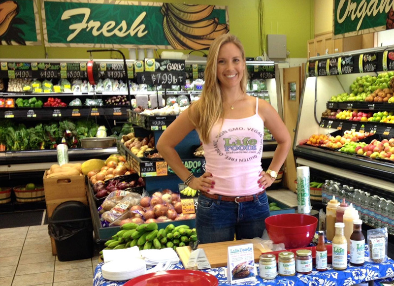Photo: Life Foods Vendor at Down to Earth