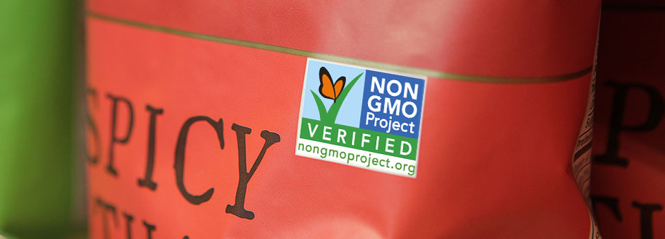 Photo: Product Showing Non-GMO Project Verified Label