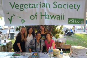 Photo: Vegetarian Society of Hawaii Staff